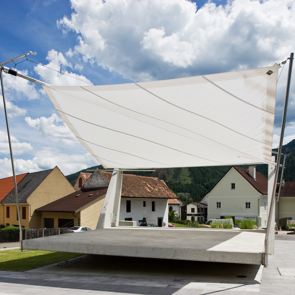 SunSquare - sun sail systems according to individual needs.