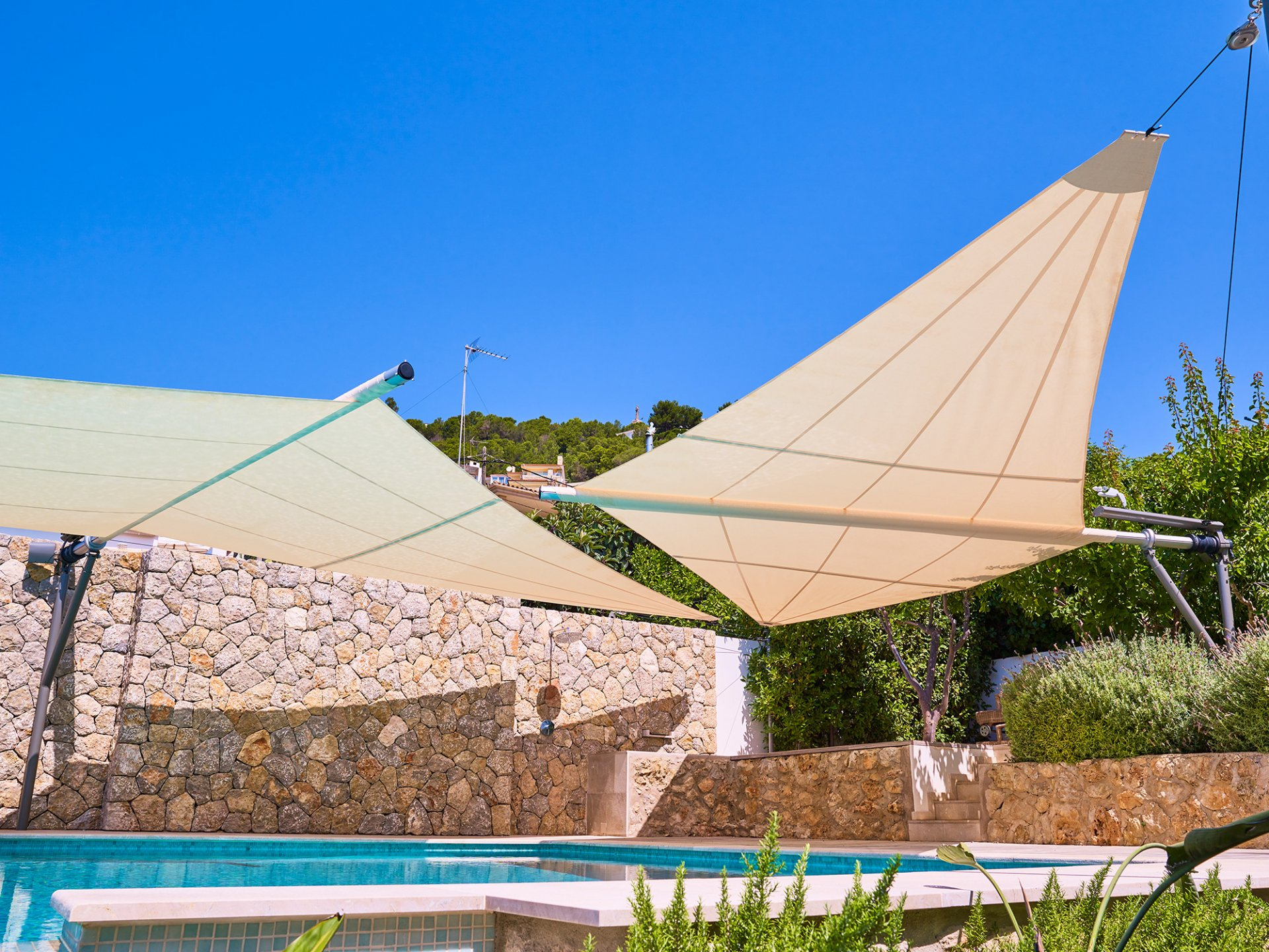 SunSquare individueller Sonnenschutz