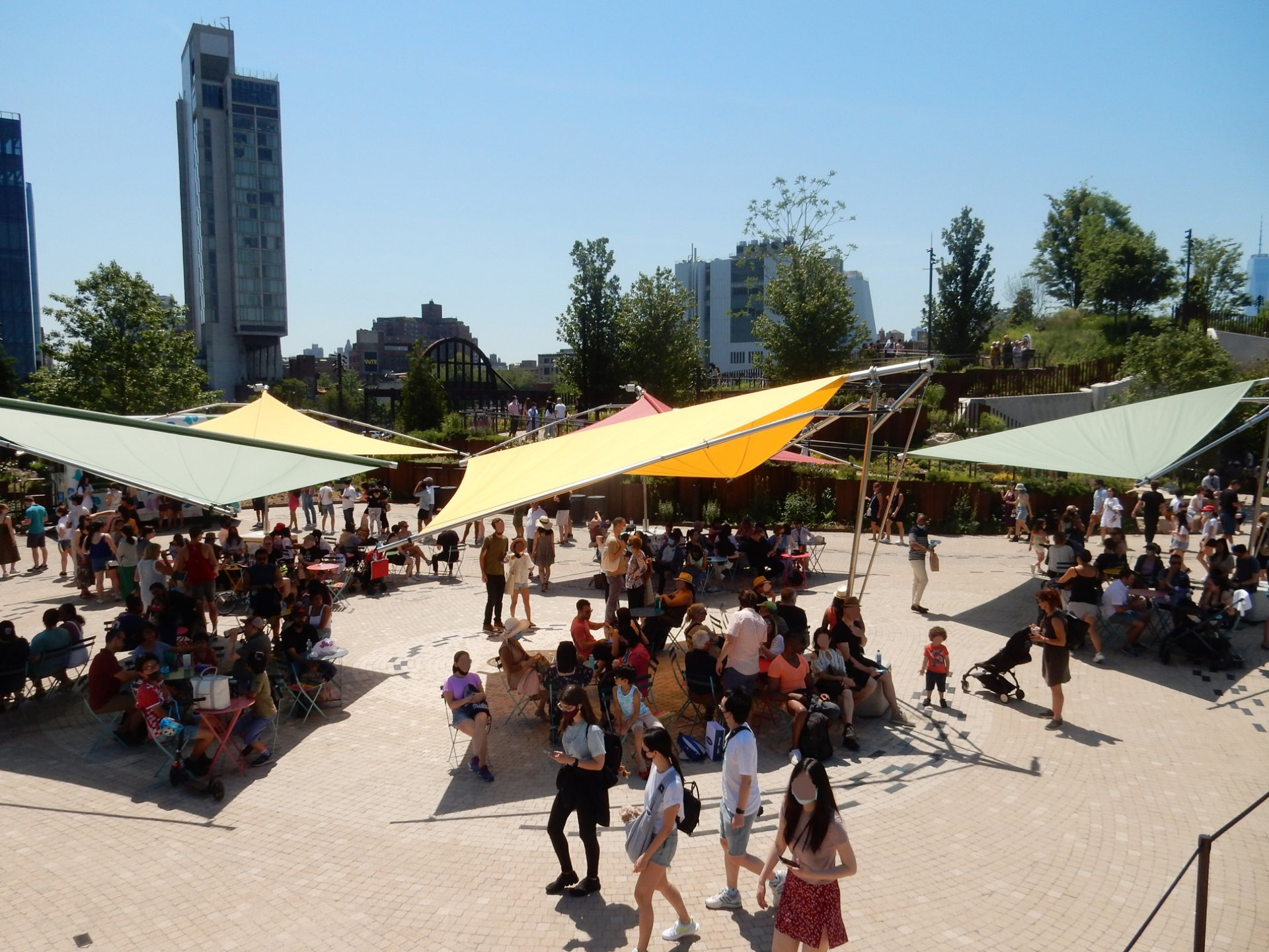 SunSquare Fold&Roll in New York - Little Island Playground