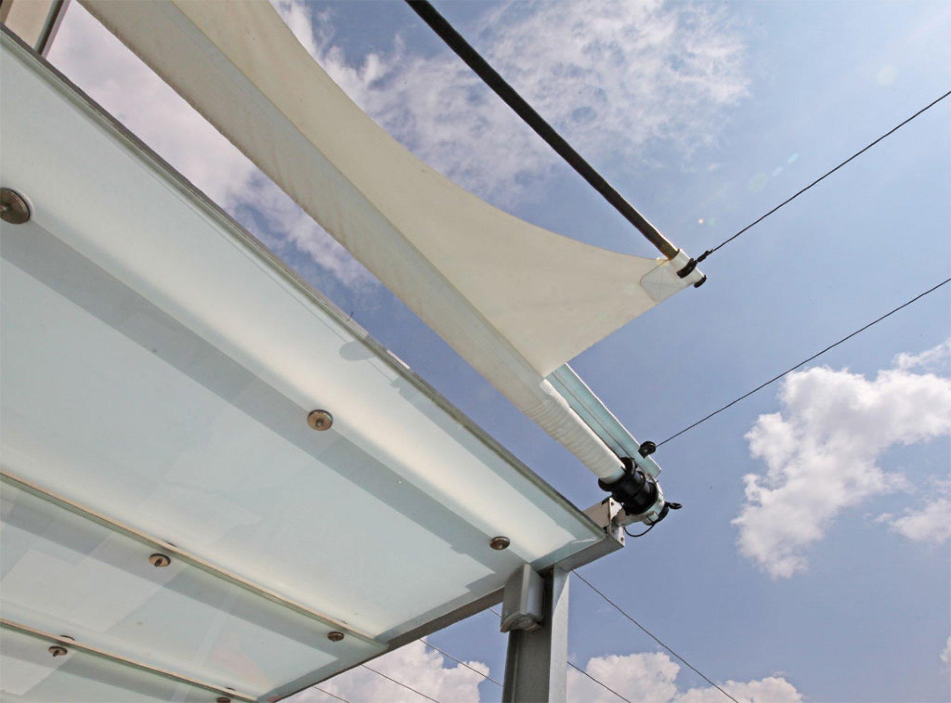 SunSquare - one sided retangular sun sail