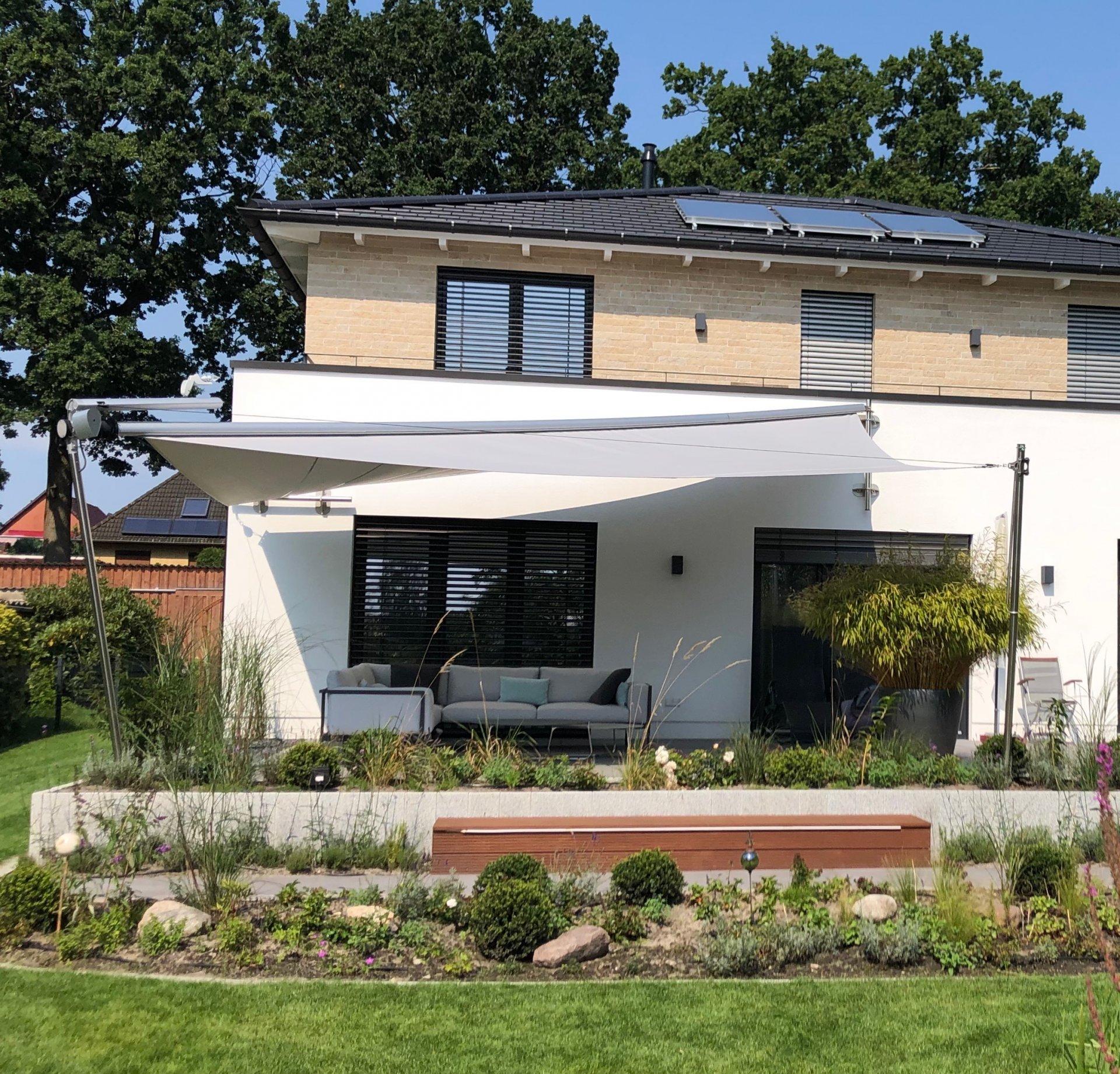 Haus K 02 - Hanseatic Sonnensegel