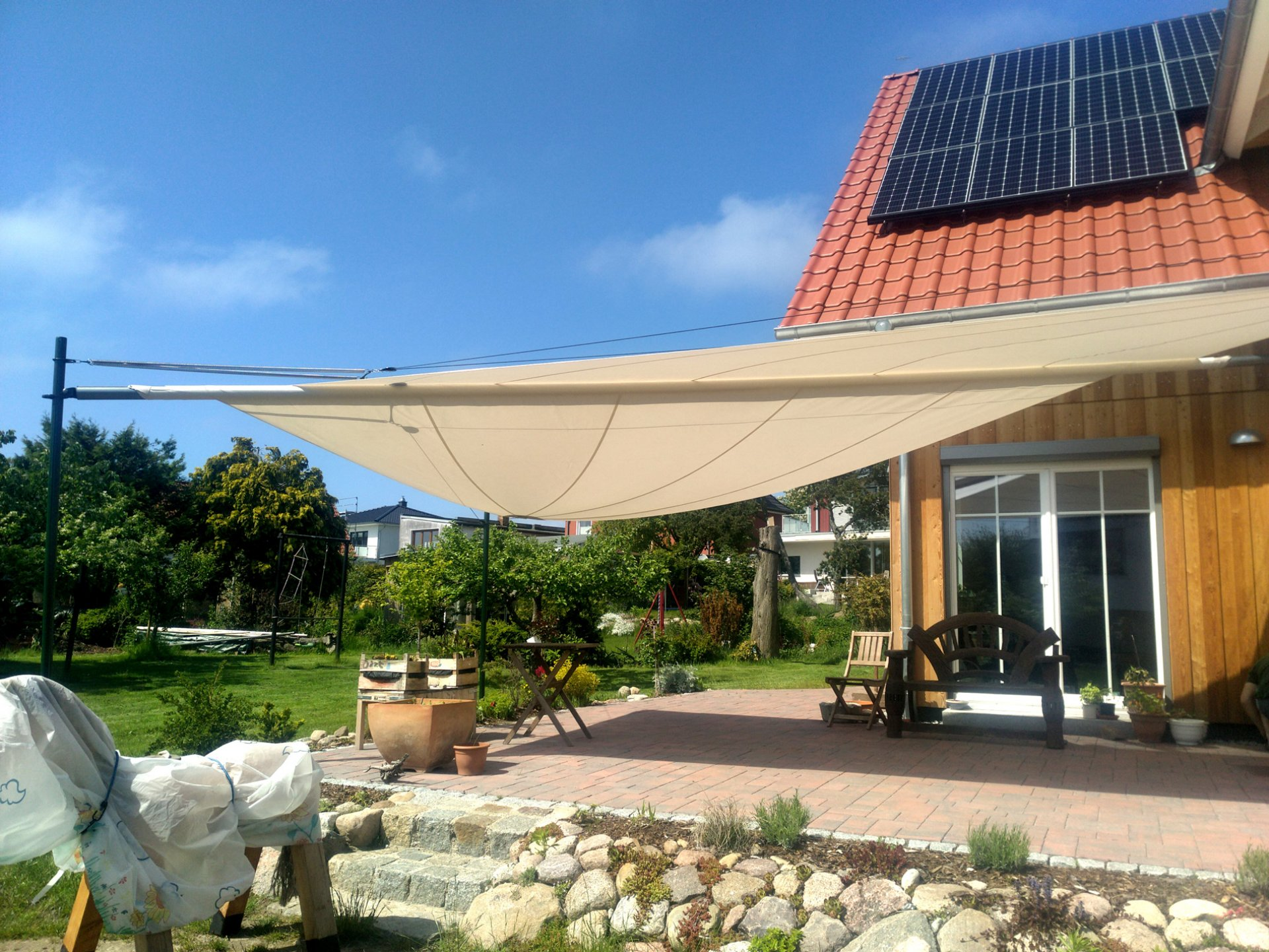 SunSquare Sonnensegel - Vertriebspartner Unter Segeln 54 Grad Nord