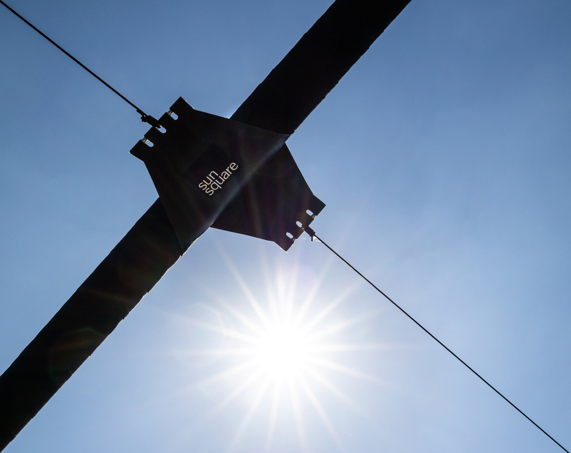 SunSquare Sonnensegel - Dachterrasse kramerundkramer