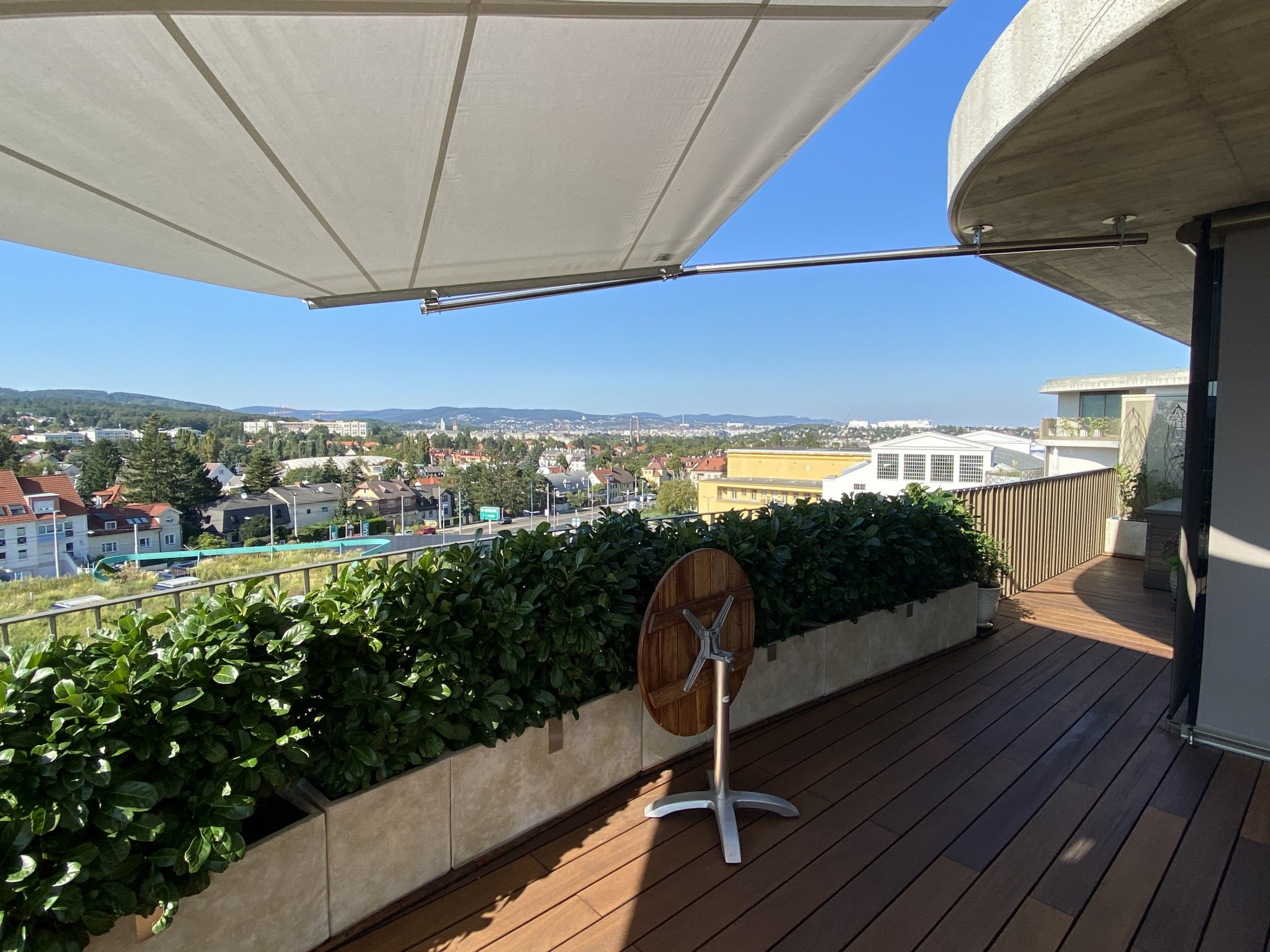 SunSquare: Rechtecksegel-Cantilever