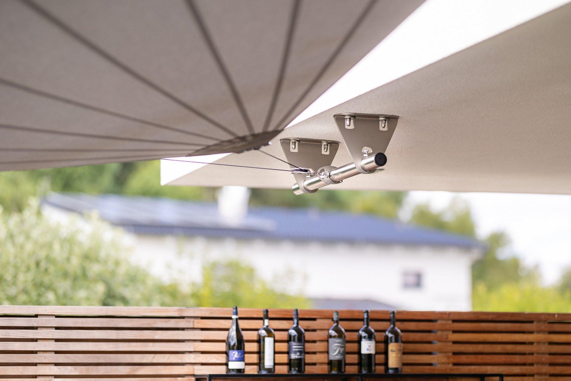 SunSquare: vollautomatische Sonnensegel für jeden Bedarf