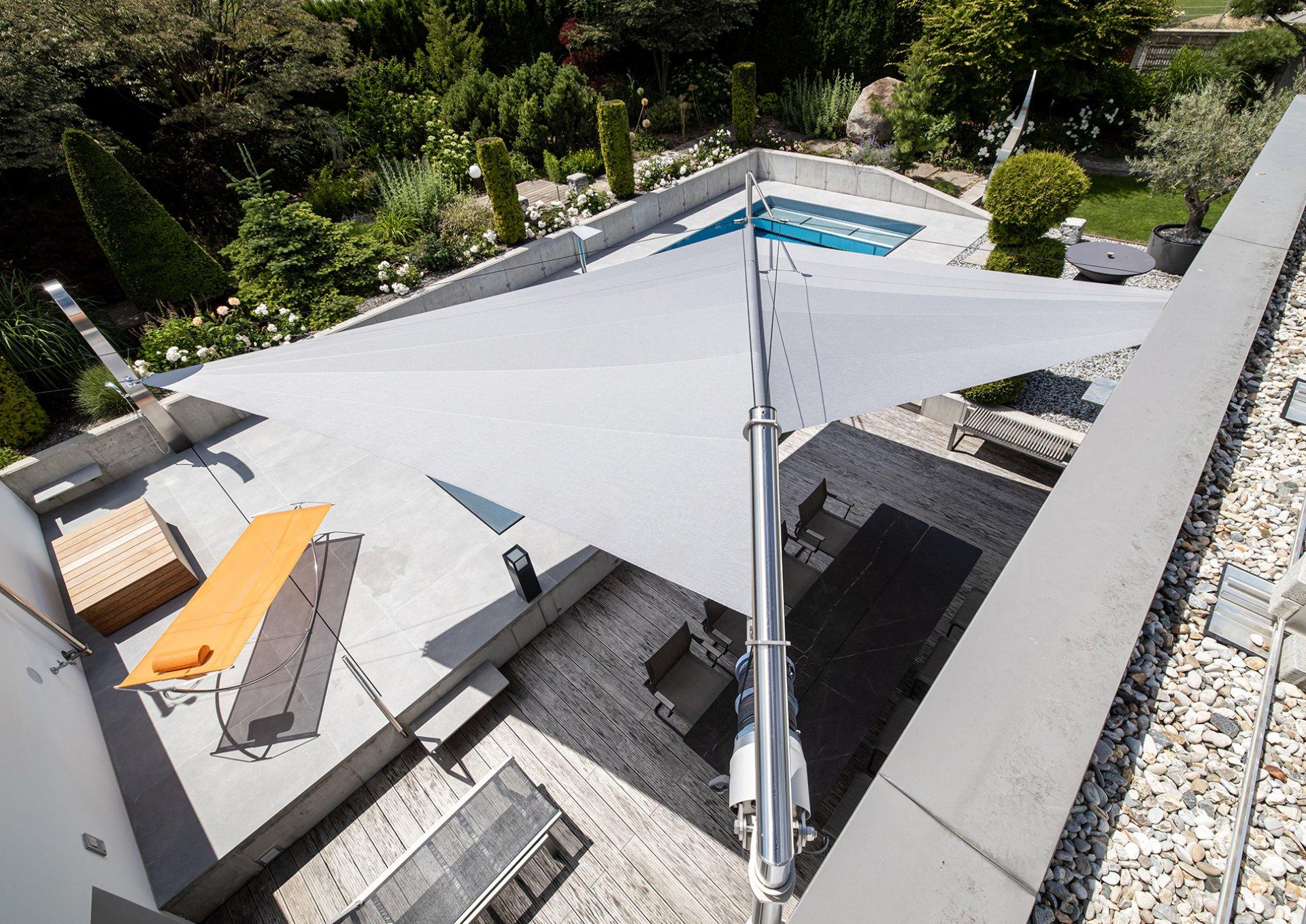 SunSquare Triangular Sail - customized