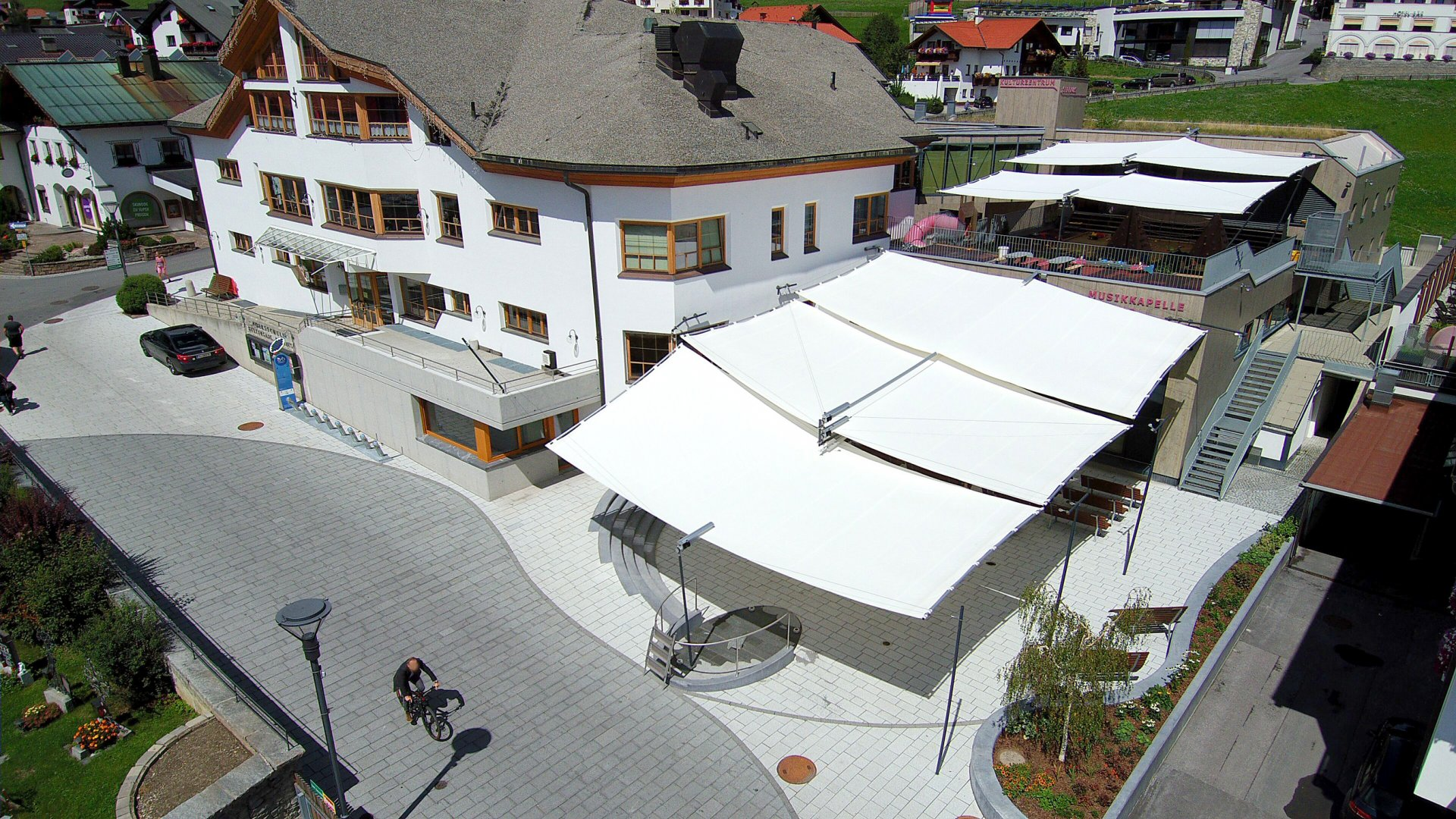 Serfaus Musikpavillon