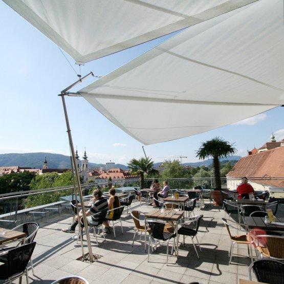 SunSquare - Einflämmteller für Montagen auf Dachterrassen