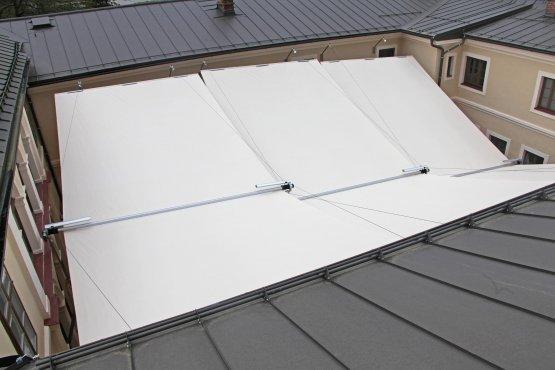 SunSquare - einzigartige Sonnensegel-Anlagen für alle Ansprüche.